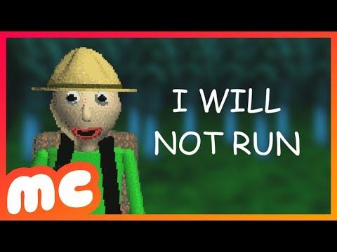 Baldi's Basics - I Will Not Run [Remix] feat. HalaCG, Subject Illuminant & Rjac25