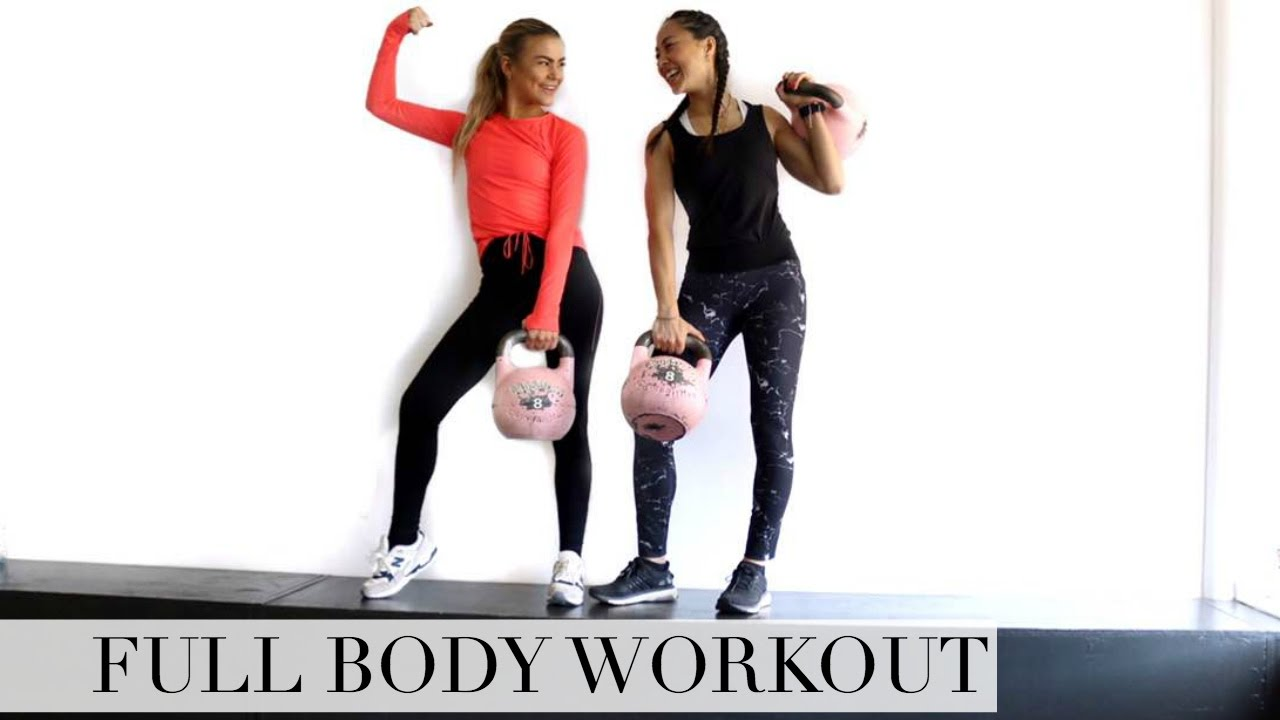 FULL BODY TRÆNINGSRUTINE I FITNESS | FIT, FAB & FUN FEAT. CAMI