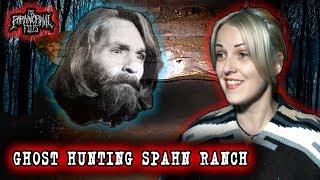 💀Hunting Charles Manson's Ghost at SPAHN RANCH, at Night 💀