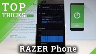 Top Tricks RAZER Phone - Advanced Settings / Cool Tips / Top Features  HardReset.Info