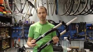 Обзор велосипедной вилки marzocchi 55R