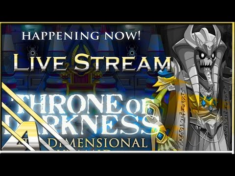 AQW Live Stream: Throne of Darkness 4D Pyramid and Music Video Contest!