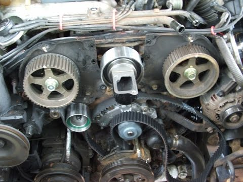 timing belt replacement how to toyota 4runner 3 0 3vze part 1 rh youtube com