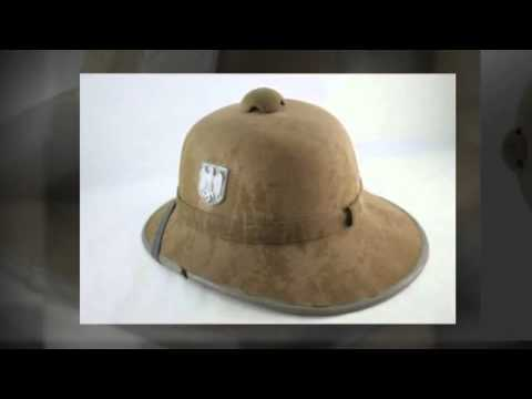 PickerTalk.com - German Pith Helmet (Afrika Korps Desert Hat WWII Era)