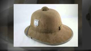 PickerTalk.com - German Pith Helmet (Afrika Korps Desert Hat WWII Era)