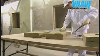 Монтаж систем КНАУФ Теплая стена
