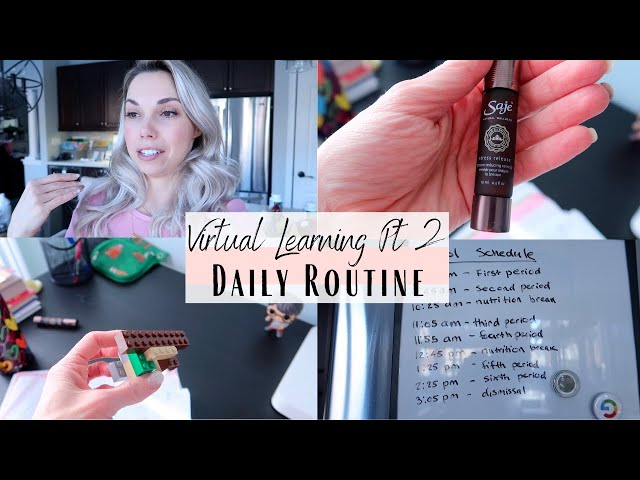 Virtual Learning part 2 | Routine, Stress Relief, Organization
