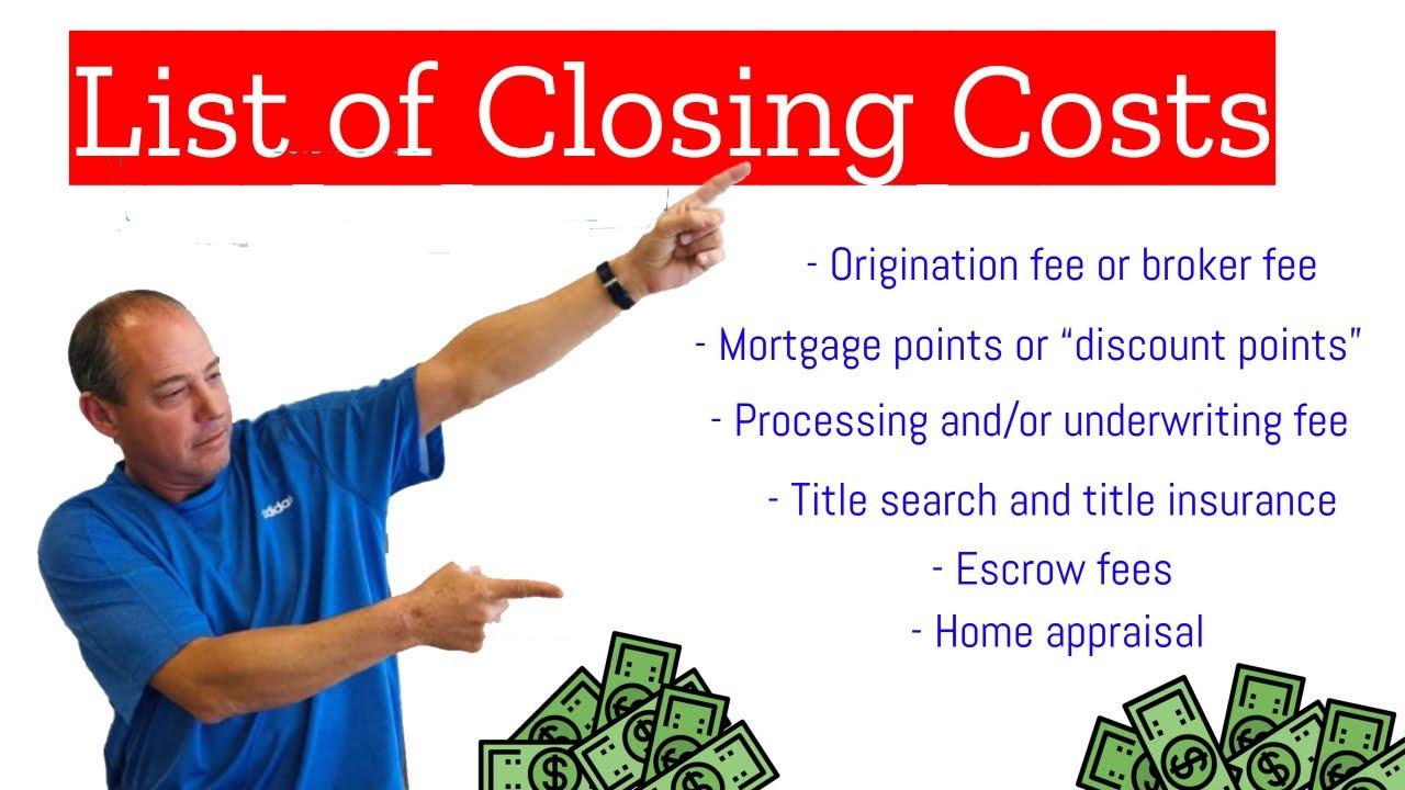 Closing Costs - Understanding Closing Costs