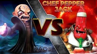 Skylanders: Swap Force (Part 28) - Kaos' Boss Fight ...