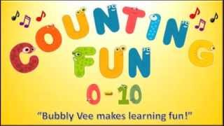 Number Song for Children / Counting Fun 0-10 / Counting Numbers