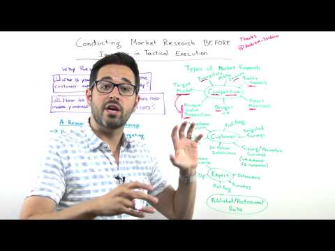 Conducting Market Research Before Investing - Whiteboard Friday by Rand Fishkin