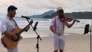 Vídeo de um casamento na praia Espaço Uluar