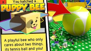 ROBLOX BEE SWARM SIMULATOR NEW PUPPY BEE AND VICIOUS BEE! *INSANE UPDATE*