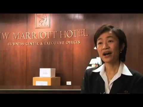 JW Marriott Bangkok Video, Intern Lynna Pornintra, BYU Hawaii Student