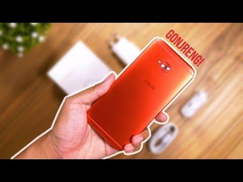 Unboxing Asus Zenfone 4 Selfie Pro - MERAH GONJRENG!