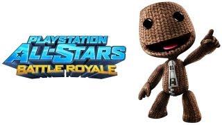 PlayStation All Stars Battle Royale walkthrough - part 1 Sackboy story little big planet series