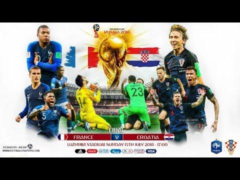 TRỰC TIẾP: Moscow trước giờ diễn ra trận chung kếtWorld Cup 2018 Pháp - Croatia