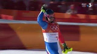 JO 2018 : Combiné alpin - Slalom. Derrière un énorme Hirscher, Pinturault décroche l'argent !