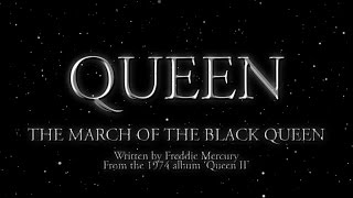 Watch music video: Queen - The March Of The Black Queen