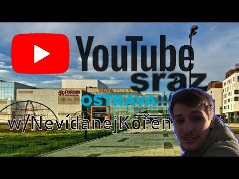 YouTube sraz s Nevídaným Kořenem
