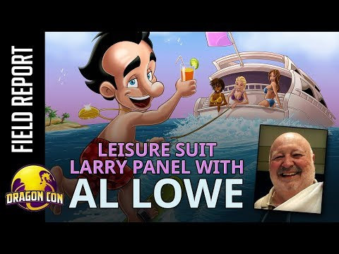 Al Lowe - Leisure Suit Larry Panel from Dragon Con 2017