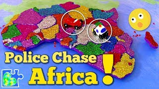 Africa Police Chase || Race Across Africa!