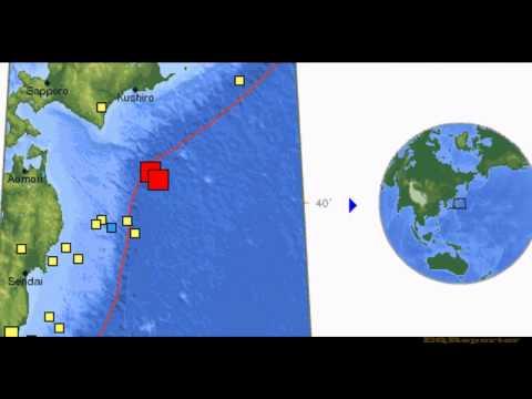M 6.9 EARTHQUAKE - OFF THE EAST COAST OF HONSHU, JAPAN 3/14/12