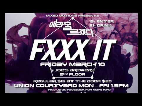 FXXX IT PARTY promotion