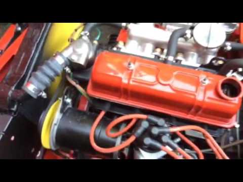 Triumph spitfire rocker assembly oil feed