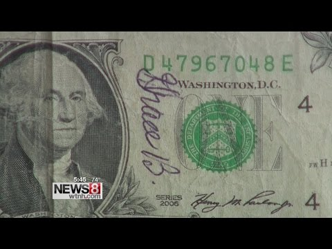 Hartford widower accidentally spends dollar bill signed by wife, gets it back as change