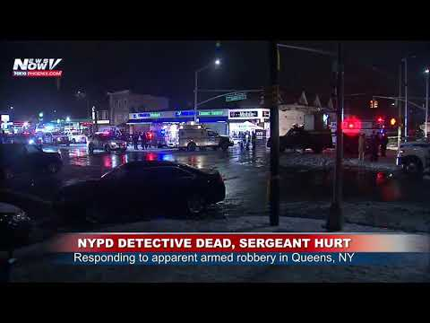 TWO NYPD OFFICERS SHOT: Reports say while responding to apparent armed robbery (FNN)