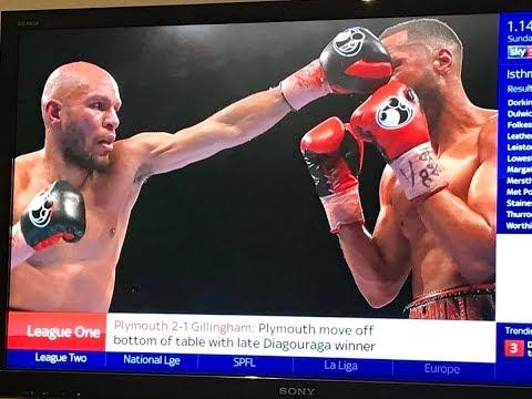 Degale vs Truax post fight Saturday 09 12 2017