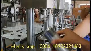 반자동 콜라 캔 시밍 기계, 알루미늄 캔 씰링 기계, …