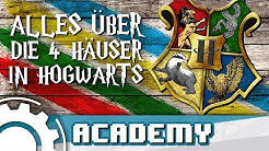Harry Potter: Alles über die 4 Häuser Hogwarts