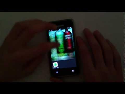 Samsung galaxy s plus (screenshot)