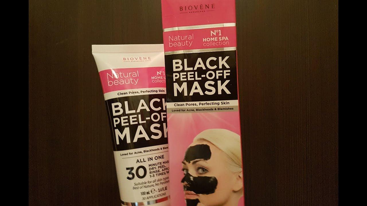 black peel off mask dermacol