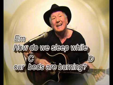 how can we sleep while the beds are burning