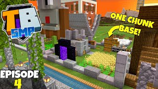 Truly Bedrock S2 Ep4! One Chunk Base Farm Planning! Bedrock Edition Survival Let's Play!