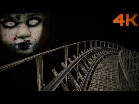 ???? VR 360 Halloween Roller Coaster Experience POV Virtual Reality 4K 3D Ride