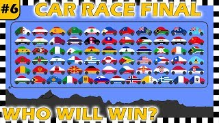 Country Cars Race World Final 2018 Part 6 - Who Will Win? - Algodoo