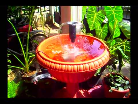air mancur pot klasik aka classic pot fountain - youtube