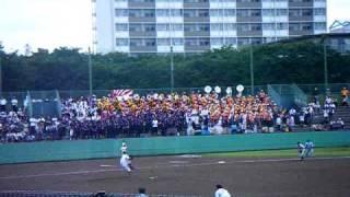 東京都 高校野球 応援 ブラバン ブラスバンド japan high school baseball.