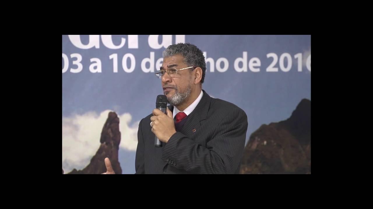 Encerramento do 20º Concílio Geral com o Bispo Luiz Vergílio Batista da Rosa