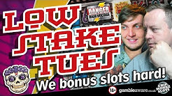 Online Slots - Big wins and bonus rounds Low Stake Tuesday