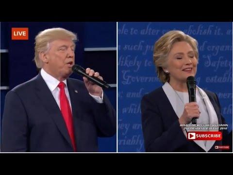 Donald Trump vs Hillary Clinton 2nd Presidential Debate ...
