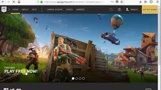 How To Install Fortnite Battle Royale Free To PC Windows 10