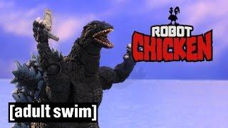 The Best of Godzilla   Robot Chicken   Adult Swim