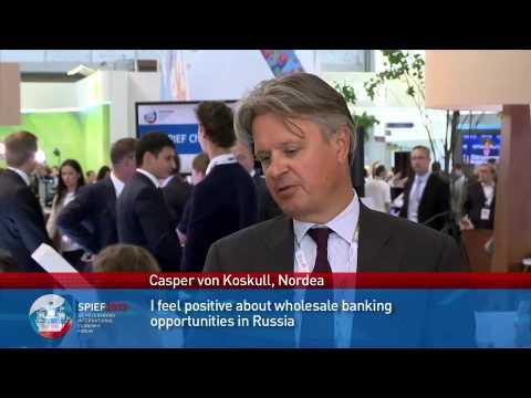 Casper von Koskull, Head of Wholesale Banking, Nordea