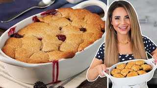 The PERFECT Blackberry Cobbler Recipe - Baking Basics