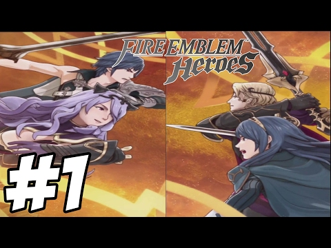 Fire Emblem Heroes Gameplay Walkthrough Part 1 - Prologue ( IOS)